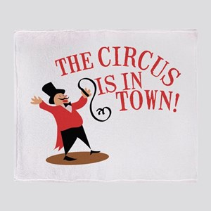 Ringmaster Town Throw Blanket